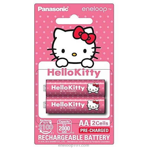 pink Hello Kitty batteries