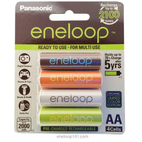 Chinese Organic eneloop 4 pack