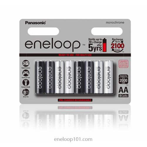 Monochrome color batteries