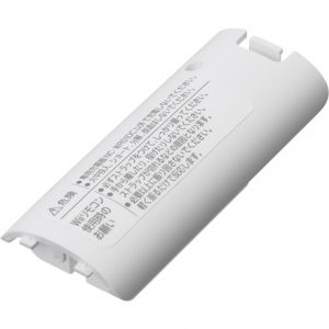 Wii remote control battery pack