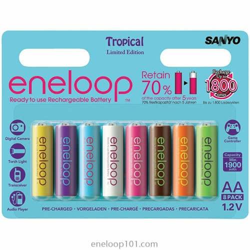1st tropical eneloops