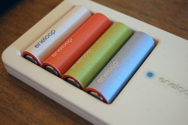 Prototype eneloop batteries