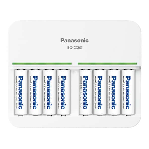 Panasonic 2017 8-bay charger