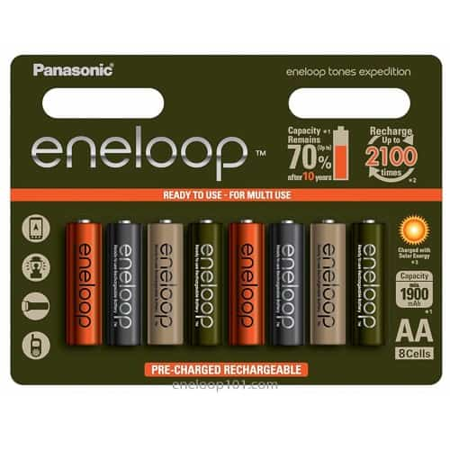 tones expedition batteries AA