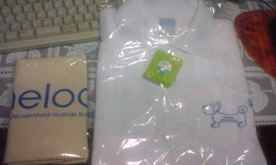 White t-shirt with eneloop