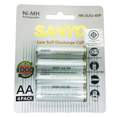 Eneloop lite batteries 4*AA 1000 cycles
