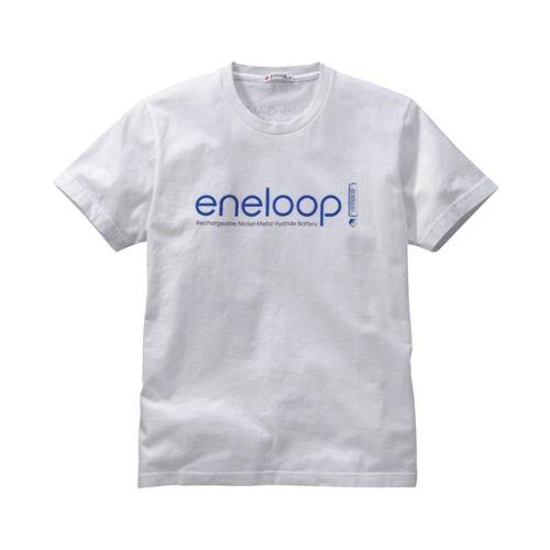 White eneloop tshirt